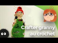 Crafter granny au crochet - YouTube