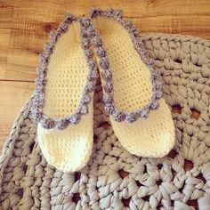 #crochet sandals