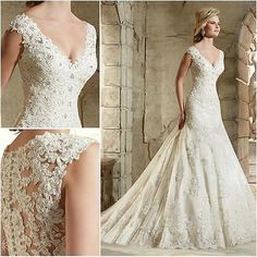 Custom Made lace Wedding Dresses 2017 Vintage Lace Princess Ball Gown White Robe https://t.co/isYlPRLlGH https://t.co/eBttzYO4QO