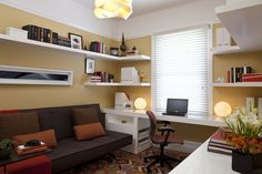 great use of a small office space/ guest quarters