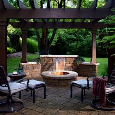 patio. combination of open patio and covered patio with outdoor ... - Open Patio Ideas