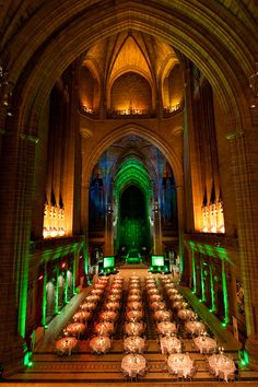 Interior of Liverpool's First Cathedral