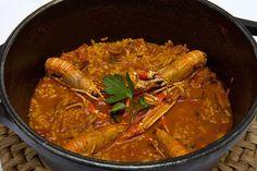 Arroz Meloso de Cigalas y Almejas,especial de la casa. #Jávea #costablanca www.restaurantetrencall.com