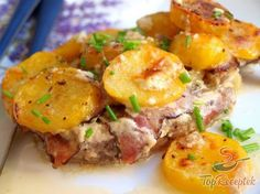 In Bacon eingewickelte Hähnchenbrustfilets No Salt Recipes, Cooking Recipes, Healthy Recipes, Cooking Ideas, Czech Recipes, Ethnic Recipes, Hungarian Recipes, Nutella, Potato Salad