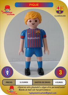 Fc Barcelona, Mario, Boys, Fictional Characters, Home, Fo Porter, Pique, Playmobil, Baby Boys