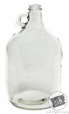 1 Gallon Growler Glass Jug