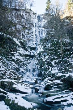 When the waterfalls freeze, it's truly stunning.