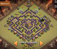 Top 3 TH8 4 Mortar WAR Base Designs December 2014 COC Clash of Clans