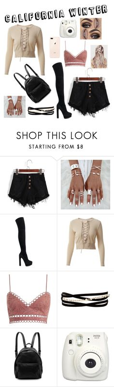 """California Winter"" by zi-and-astro ❤ liked on Polyvore featuring Casadei, Zimmermann, Kenneth Jay Lane, STELLA McCARTNEY and Fujifilm"