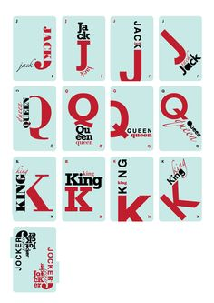 Typography Cards Series 2