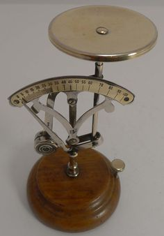 Charming Antique French Postal or Letter Scale c.1890