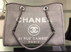 bd8a54aa3505 Chanel Deauville Tote Bag. Get one of the hottest styles of the season! The
