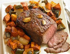 Easy-Breezy BBQ Pot Roast Dinner  A warm and satisfying dinner from The Biggest Loser Quick & Easy Cookbook by Chef Devin Alexander
