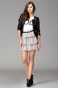 more #Fashion #Miniskirt - www.jestesmodna.pl