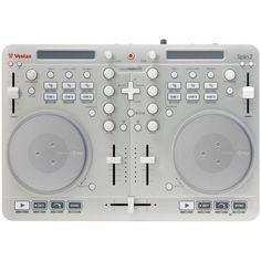 Vestax Spin2 DJ MIDI Controller for iPad, iPhone and Mac Vestax http://www.amazon.com/dp/B009MU5EP0/ref=cm_sw_r_pi_dp_1-Kyub0HNWN5M