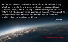 goethe You Must, Astrology, Planets, World, The World