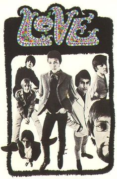 Love, promotional graphic, c 1967.