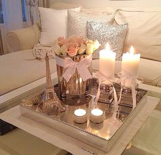 Coffee table deco
