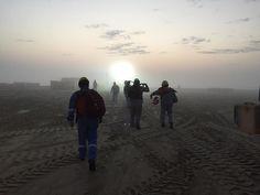 The Walking Dredgers season premier #offshorelife #saudiarabia by rimatto
