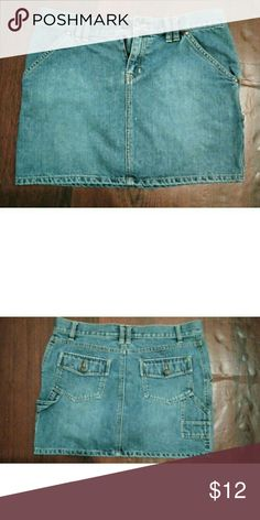 81a0b8d415 Old Navy Denim Skirt sz 6 Old Navy denim skirt 14 1 4 length 16