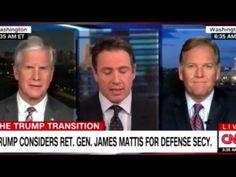 Trump considers RET-GEN-JAMES MATTIS For Secretary of Defense  #Panel @R...
