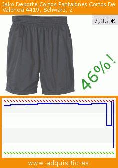 Jako Deporte Cortos Pantalones Cortos De Valencia 4419, Schwarz, 2 (Sports Apparel). Baja 46%! Precio actual 7,35 €, el precio anterior fue de 13,63 €. http://www.adquisitio.es/jako/deporte-cortos-pantalones