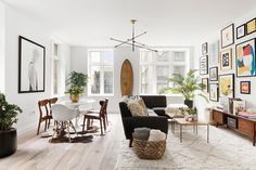 This American Life's Ira Glass Lists His Light-Filled Chelsea Apartment For $1.75M - Dwell