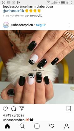 Great Nails, Fabulous Nails, Perfect Nails, Gorgeous Nails, Simple Nails, Cute Nails, May Nails, Nails Only, Winter Nails