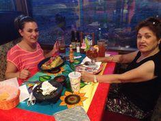 Having fun at Casa mariachi