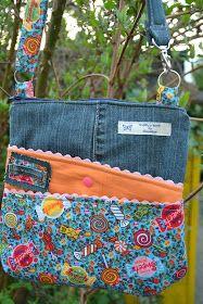 d6138babf6 CheRRy s World  Meine ZICKY ZACKY BAG  ) Jeans Recycling