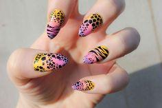 boom nails emma zentner nail art london animal print tiger leopard giraffe zebra