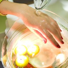 Welcoming ritual - unique hand massage  | http://www.hotelklimek.pl/en/spa-wellness