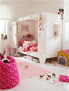 Kojenbett für Kinder Genau das Richtige für wilde Jungs und Mädchen...denn wenns ins Bett geht, soll es ganz gemütlich werden! Das Bett wird...