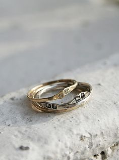 Gainsbourg hallmarked ring 10k Gold