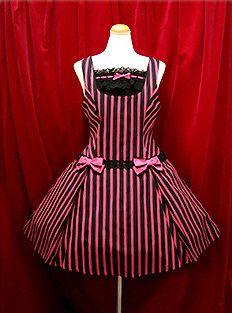 Alice & the Pirates » Jumper Skirt » Striped Crown Salopette JSK