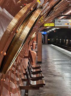 Station Arts et Métiers, Metro Paris