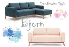 Styl skandynawski - fotele , sofy i narożniki