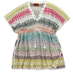 Missoni Multicolored Caftan Top , Missoni, Missoni Knit Top, Caftan