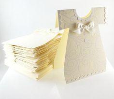 Baby Dress Shower, Dedication or Christening Invitation Cards - Stampin' Up