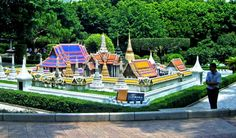 Grand Palace Thailand Miniature