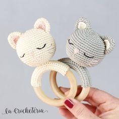 2019 All Best Amigurumi Crochet Patterns Crochet Baby Toys, Crochet Amigurumi Free Patterns, Baby Knitting, Amigurumi Tutorial, Crochet Rabbit, Baby Rattle, Stuffed Animal Patterns, Love Crochet, Handmade Baby