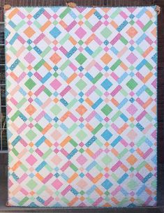 Double Up Baby Quilt | Giveaway | Finished or Not Friday Linky Party!