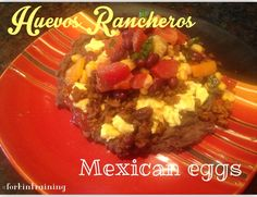 Mexican Eggs 21 day Fix approved recipe www.facebook.com/forkintraining #forkintraining #21dayfixapproved www.teambeachbody.com/mandihinson