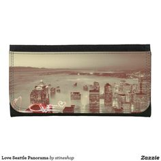 Love Seattle Panorama Wallet
