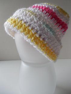 2fe24f87054 Sale Baby Beanie Baby Hat by ShelleysCrochetOle on Etsy