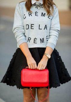 nice Яркие красные женские сумки (50 фото) — Правила выбора, сочетания 2017 Читай больше http://avrorra.com/sumki-zhenskie-krasnye-foto/