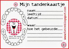 Free download tandenkaartje!