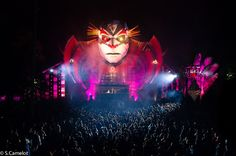 Tomorrowland - Belgium #clown #stage