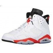 Order 384664-123 Air Jordan 6 Retro Infrared White/Infrared-Black 2014 Cheap Women Men Youth Size Price:$119.99  http://www.pinterest.com