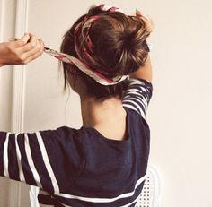 Summer Hairstyles 2013 | Simple Ballerina Bun | click photo to read more ..